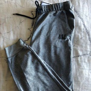 Abercrombie and Fitch Grey Joggers